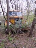 金刚石T 载重汽车运输公司,被放弃 库存图片