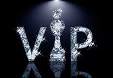 金刚石VIP棋卡片 库存图片