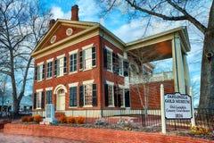 金博物馆在Dahlonega, GA 免版税库存图片