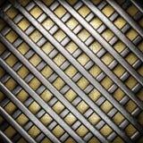 金和银背景 免版税库存照片