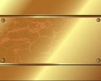 金器抽象金属背景  皇族释放例证