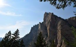 黄金国峡谷国家公园在科罗拉多 库存照片