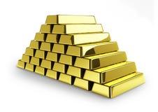 金块 免版税库存图片