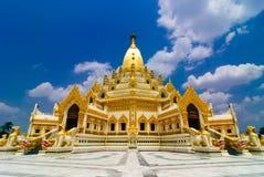 金塔 缅甸 库存图片
