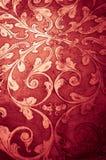 金子华丽设计 背景装饰红色 库存照片