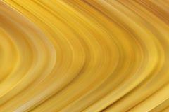金子和褐色背景弯曲了木作用 库存照片