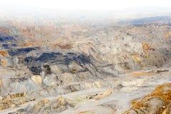 金子和铜采矿 库存照片