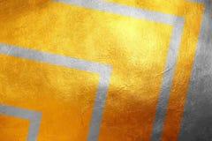 金子和银闪烁的脏的纹理样式,创造性/独特的豪华抽象背景 设计要素例证图象向量 免版税图库摄影