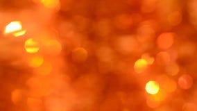 金子和闪闪发光圣诞节背景 股票视频
