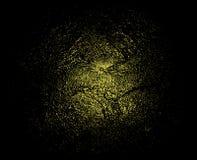 金子在黑背景的闪烁纹理 传染媒介液体金子 在黑背景的金黄粒状抽象纹理 皇族释放例证