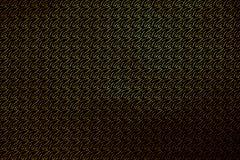 金子在黑色隔绝的纹理样式,创造性的摘要 库存图片