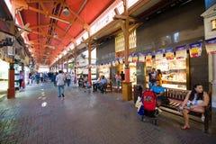 金子城市在迪拜 免版税库存照片