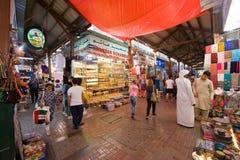 金子城市在迪拜 免版税图库摄影