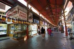 金子城市在迪拜 图库摄影