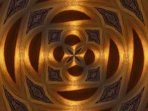 金子形状 图库摄影