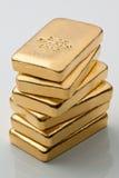 金子投资实际比 库存照片