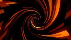 金子数字正方形有漩涡畸变VJ圈背景 影视素材
