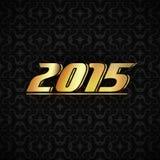 金子新年度 库存照片