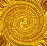 金子漩涡豪华横幅背景 库存照片