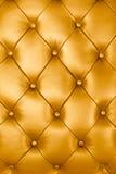 金子皮革纹理 库存图片