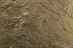 金子石纹理墙壁 库存照片