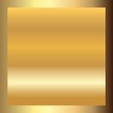金子纹理正方形金黄框架 库存例证