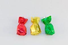 金子绿色红色 免版税图库摄影
