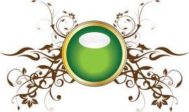 金子绿色 库存图片