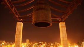 金子耶路撒冷在天际的 免版税库存照片