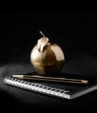 金子苹果计算机 库存图片