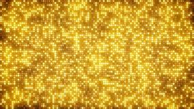 金子闪烁加点抽象背景 免版税库存照片
