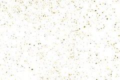 金子闪烁纹理传染媒介 向量例证