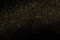金子闪烁纹理传染媒介 库存图片