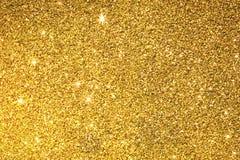 金子闪烁纹理表面背景 库存图片