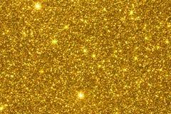 金子闪烁纹理表面 免版税图库摄影