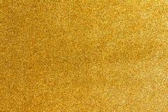 金子闪烁纹理 图库摄影