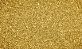 金子闪烁背景纹理横幅 导航卡片或假日圣诞节背景的闪光欢乐背景 皇族释放例证