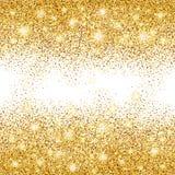 金子闪烁背景闪闪发光 免版税图库摄影