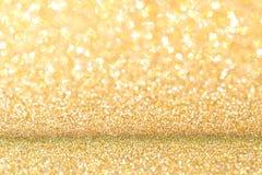 金子闪烁背景 库存图片