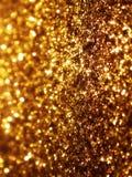 金子闪烁背景 图库摄影