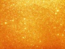 金子闪烁背景 免版税图库摄影