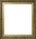 金子绘的被镀的装饰框架 库存图片