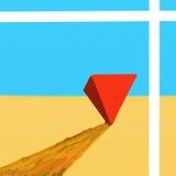 金字塔。 库存图片