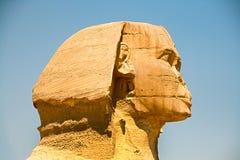 金字塔和狮身人面象在吉萨棉 埃及 9月2008日 库存照片