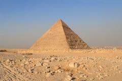 一座金字塔在吉萨棉,开罗 免版税库存照片