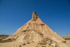 金字塔形岩层侵蚀 库存图片
