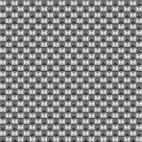 金字塔摆正样式黑白照片 免版税库存图片