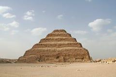 金字塔步骤 库存照片