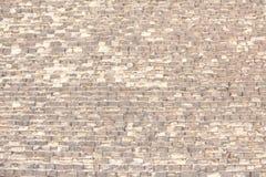 金字塔砖 免版税库存照片