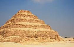 金字塔跨步 库存图片